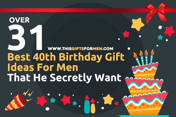16 best 40th birthday gift ideas for men that he secretly want for What should you get a guy for his birthday