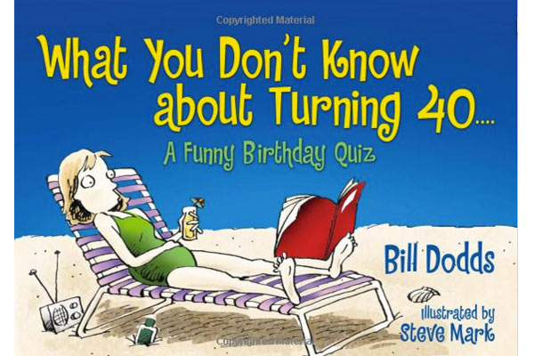 book 40th birthday gifts for him